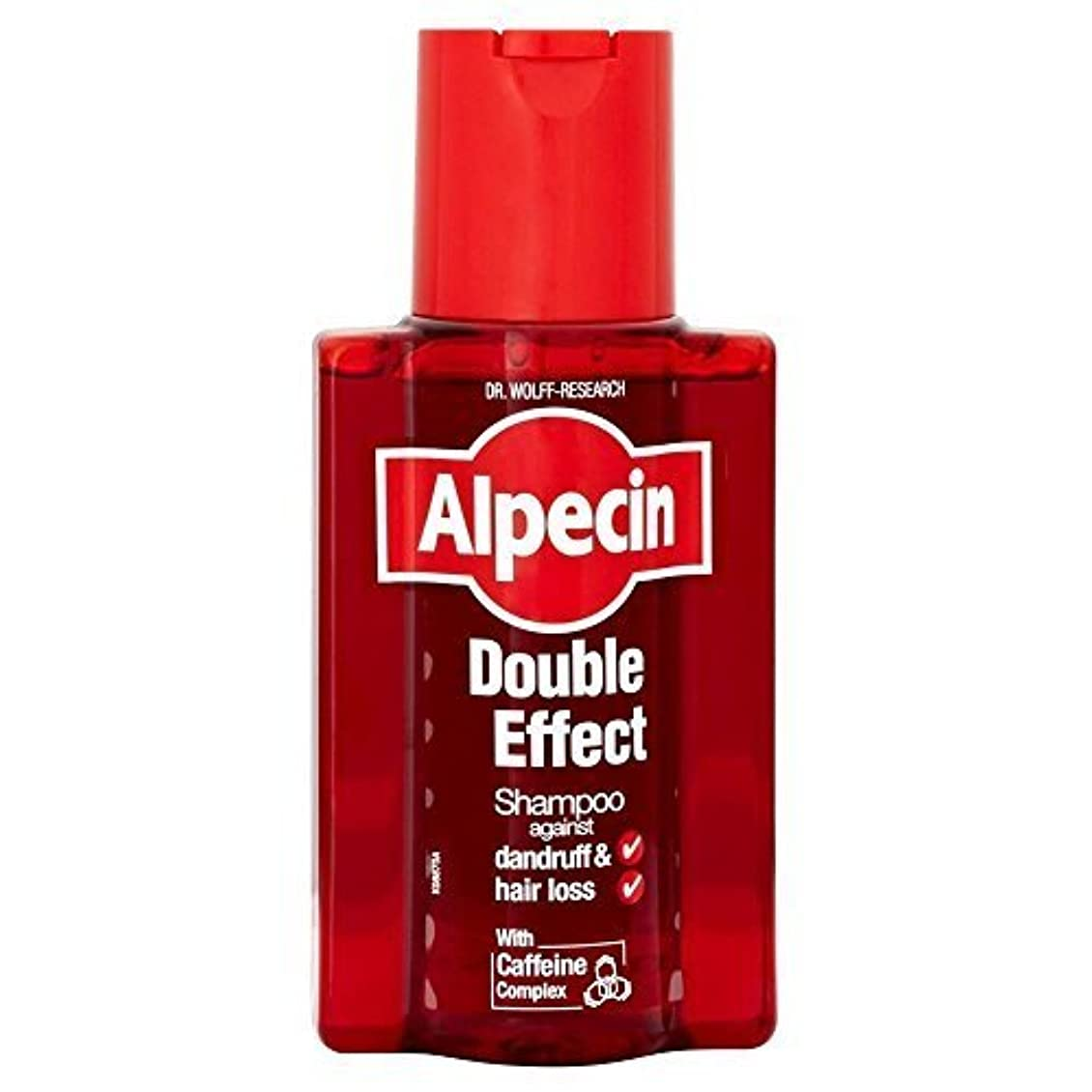 シュリンク荒らすペグAlpecin Double Effect Shampoo (200ml) by Grocery [並行輸入品]