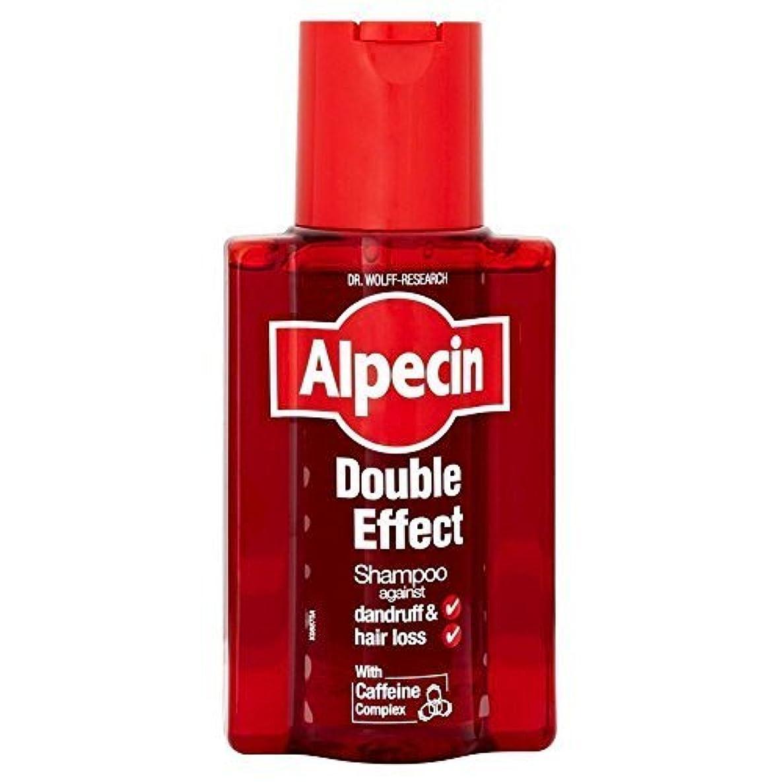 インテリアテンション結紮Alpecin Double Effect Shampoo (200ml) by Grocery [並行輸入品]