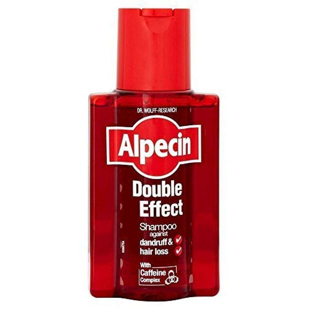 ハブアプト勘違いするAlpecin Double Effect Shampoo (200ml) by Grocery [並行輸入品]