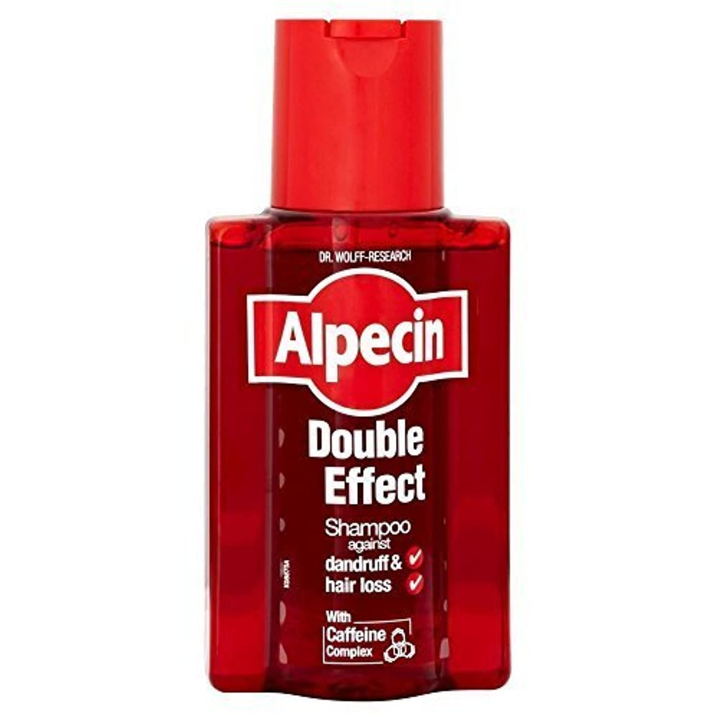 半導体力学擁するAlpecin Double Effect Shampoo (200ml) by Grocery [並行輸入品]