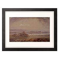 ジョゼフ・マロード・ウィリアム・ターナー Turner, Joseph Mallord William 「Ninive, Mosul am Tigris. Um 1832/34」 額装アート作品