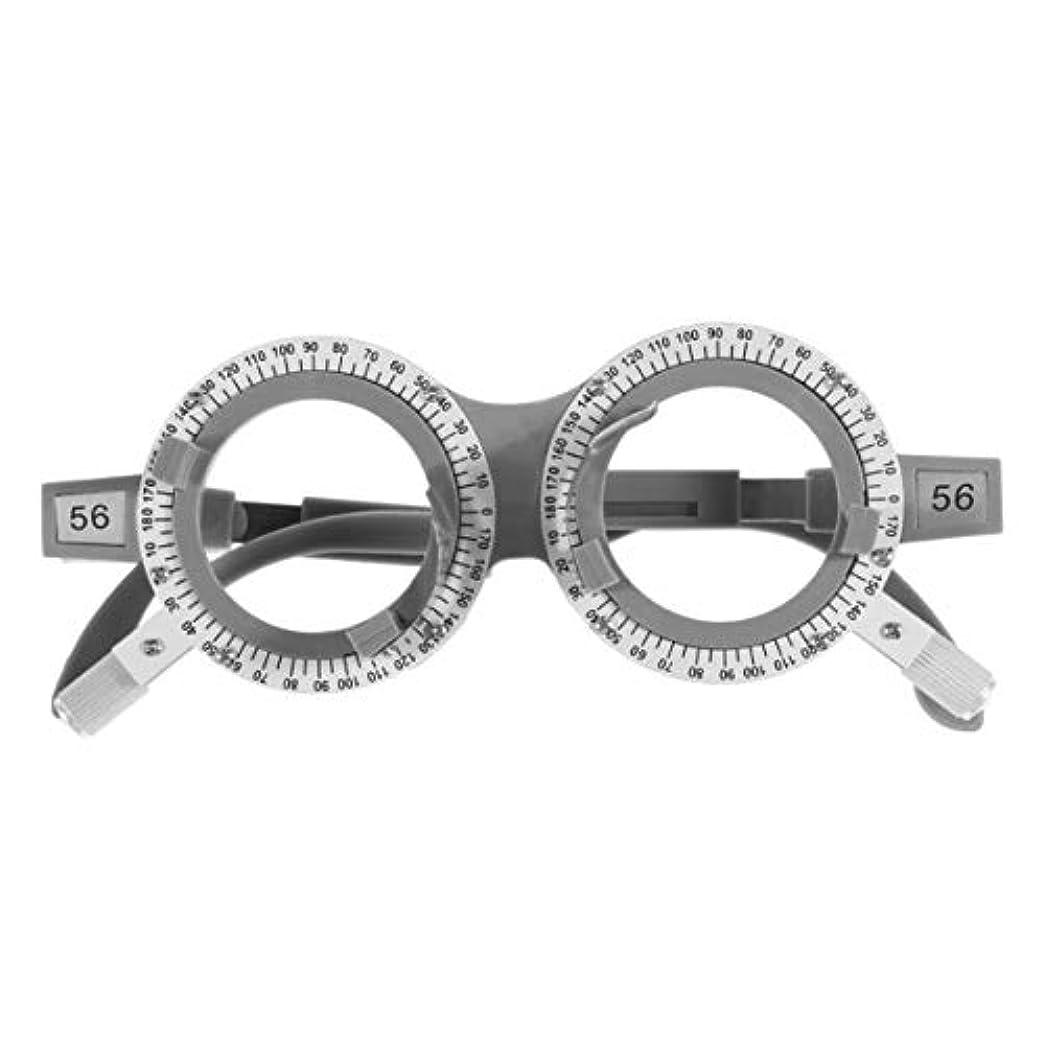 に負けるトラップ犠牲SUPVOX 光学トライアルレンズフレームpd 56光学チタン光学トライアルアイ検眼レンズフレームテスト眼鏡