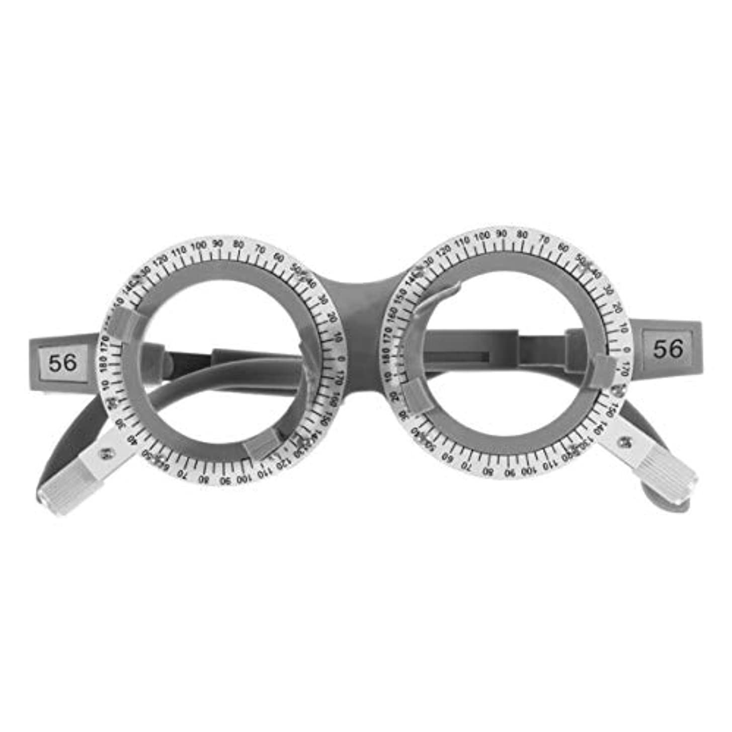 改善するキルト仲間SUPVOX 光学トライアルレンズフレームpd 56光学チタン光学トライアルアイ検眼レンズフレームテスト眼鏡