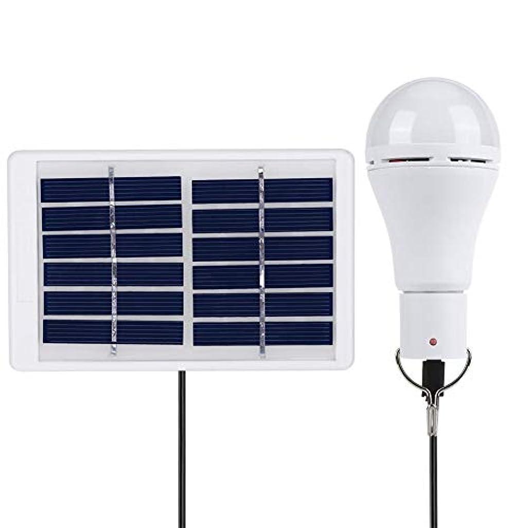 適性マルクス主義中断ソーラーライト7ワット/ 9ワット充電式ソーラーled球形5電球20ピース-cbsランプビーズusbソーラー充電ボードキャンプ屋外吊りランプ sundengy