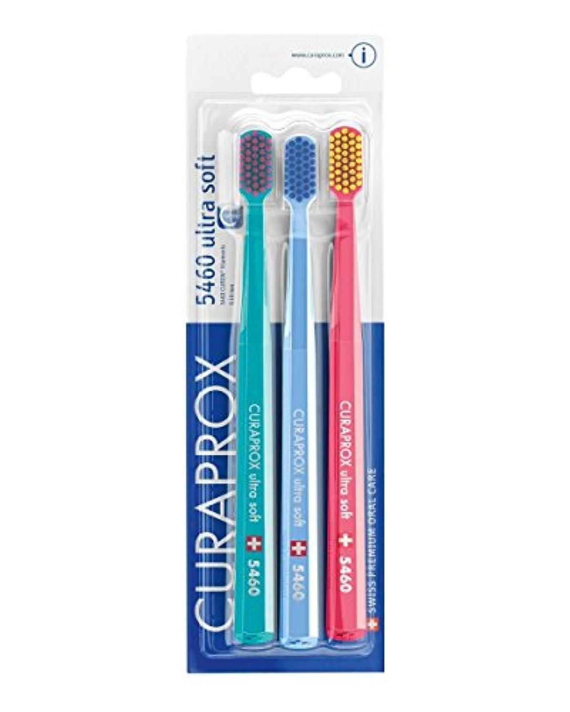 卑しいズーム死ぬCuraprox CS5460 Ulta Soft Toothbrush - Pack of 3 by Curaprox