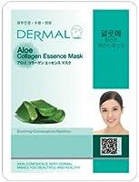 ダーマル(Dermal)シートマスク アロエ エッセンスマスク 10枚セット フェイス パック