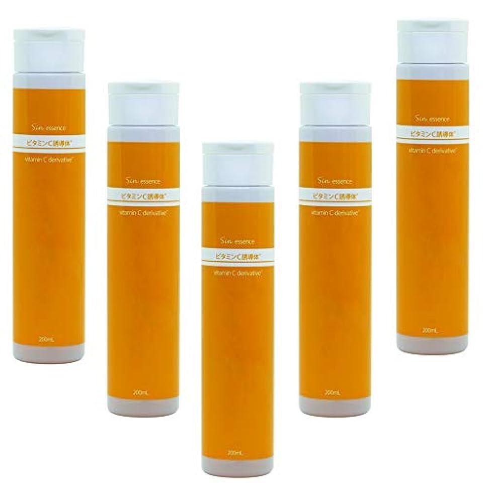 ラグ品揃え限定業務用 ビタミンC誘導体美容液 200ml ×5本 (1000ml) 日本製
