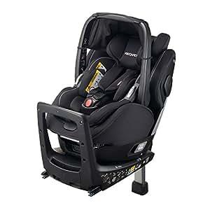 レカロ RECARO ゼロワン エリート R129 パフォーマンスブラック RC6301.21534.07 回転式チャイルドシート(新生児から4歳頃) 新安全基準R129適合、ISOFIX取付けタイプ、ワンタッチで着脱可能なベビーキャリアでおでかけがもっとラクに