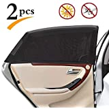 QFashion Car Side Window Baby Sun Shade | Maximum Protection | Protects Your Kids from Sun Burn | Fits All (99%) Cars Most SU
