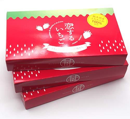 清風 恋するいちごスタンダード 栃木産とちおとめフリーズドライwithホワイトチョコレート 10個入×3箱セット [k-s3]