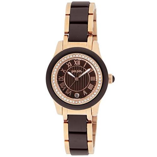 [フォリフォリ]FOLLI FOLLIE 腕時計 セラミック ブラウン文字盤 ステンレス(PGPVD)/セラミックケース WF2B026BDB レディース 【並行輸入品】