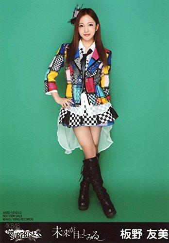 AKB48 公式生写真 未来が目にしみる 一般発売Ver. 【板野友美】