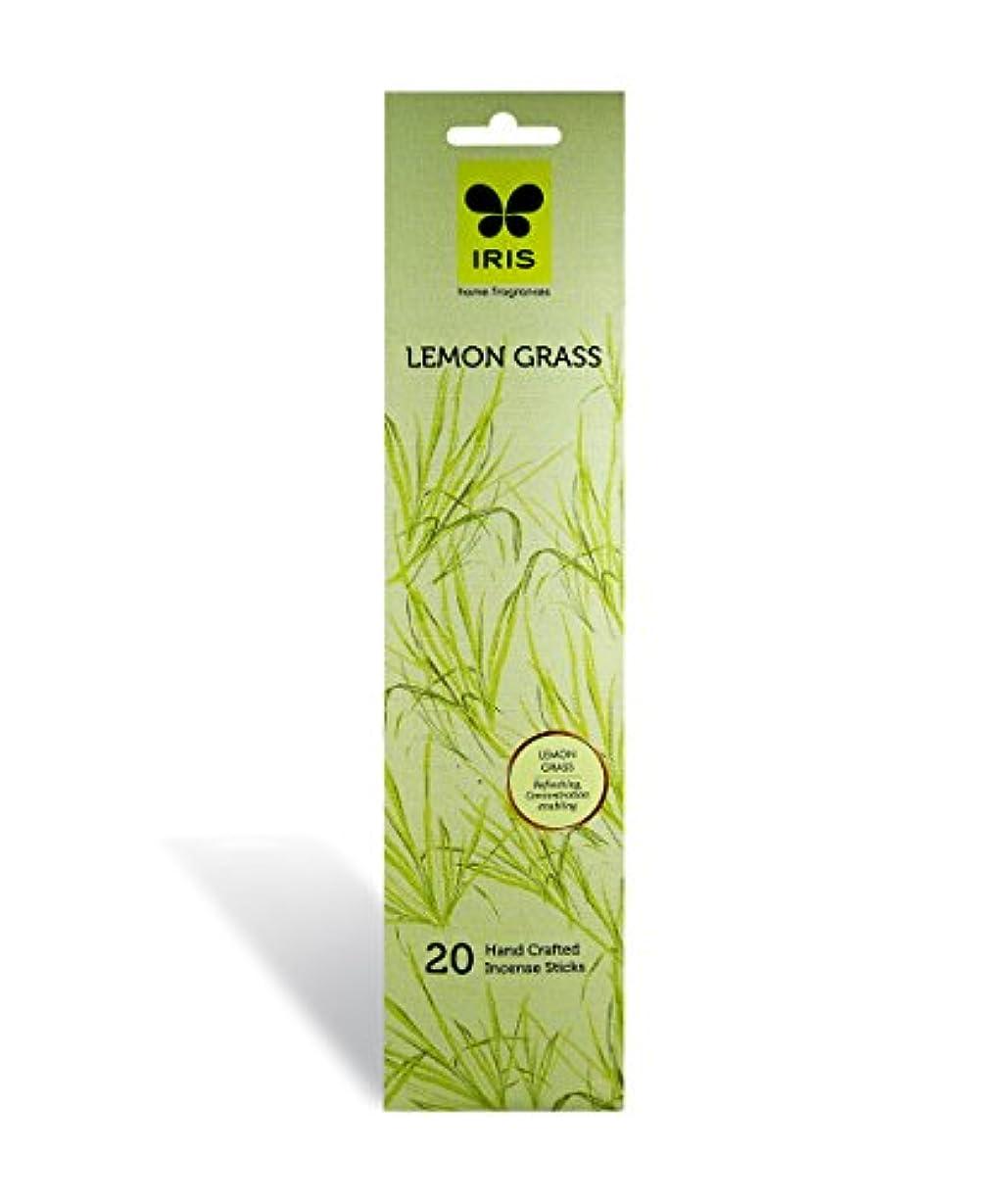 配偶者卒業記念アルバム口頭IRIS Signature Lemon Grass Fragrance Incense Sticks