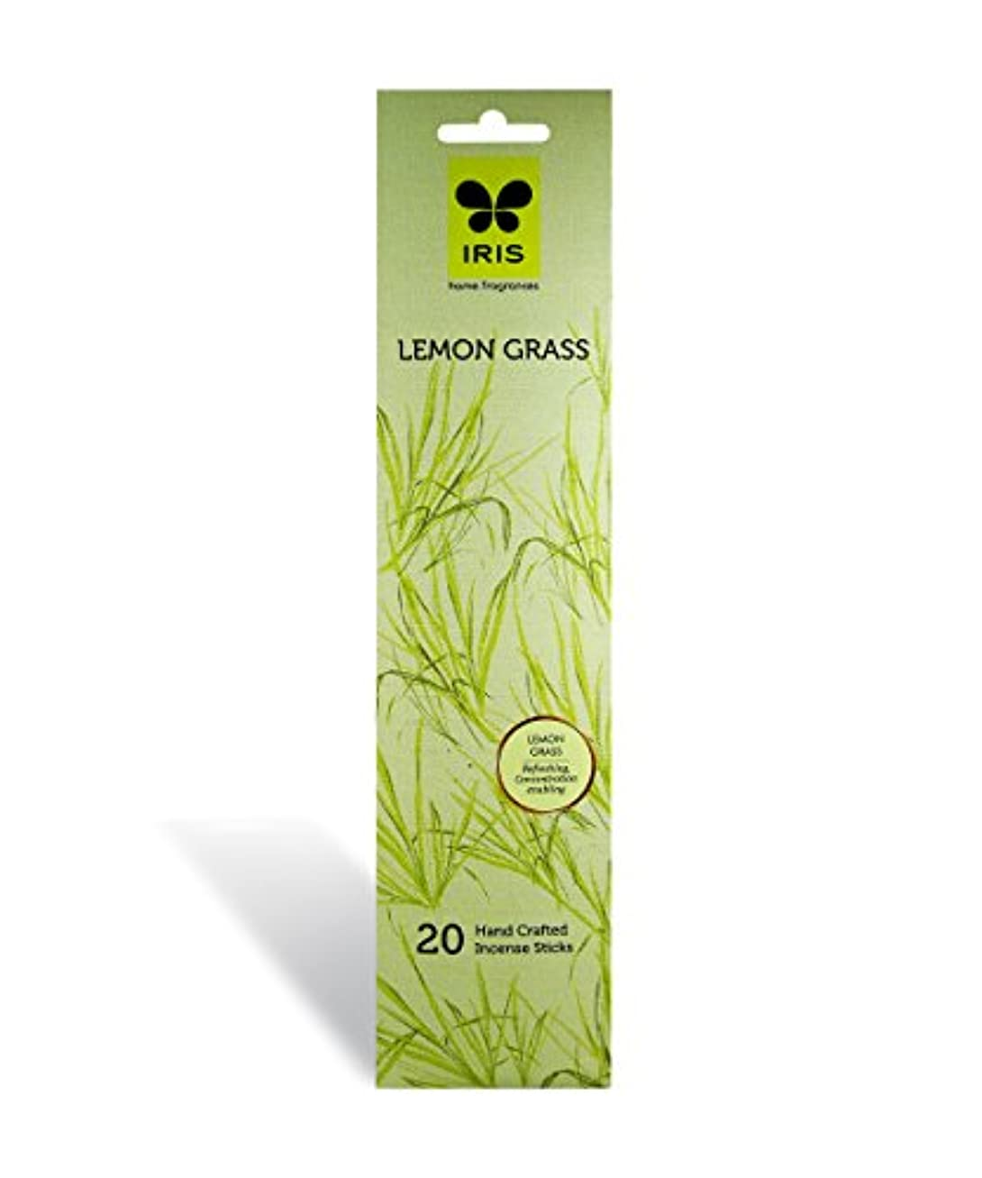 グラフアコード散文IRIS Signature Lemon Grass Fragrance Incense Sticks