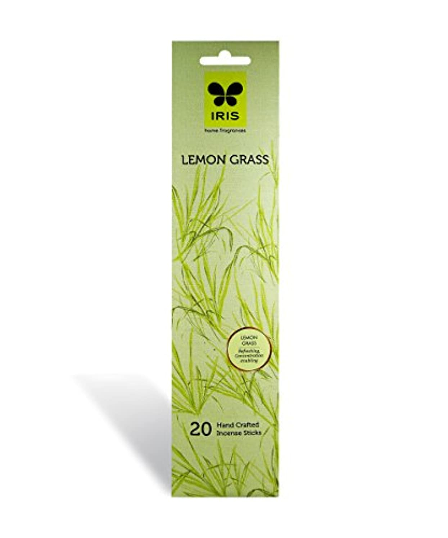 昆虫詐欺師横にIRIS Signature Lemon Grass Fragrance Incense Sticks
