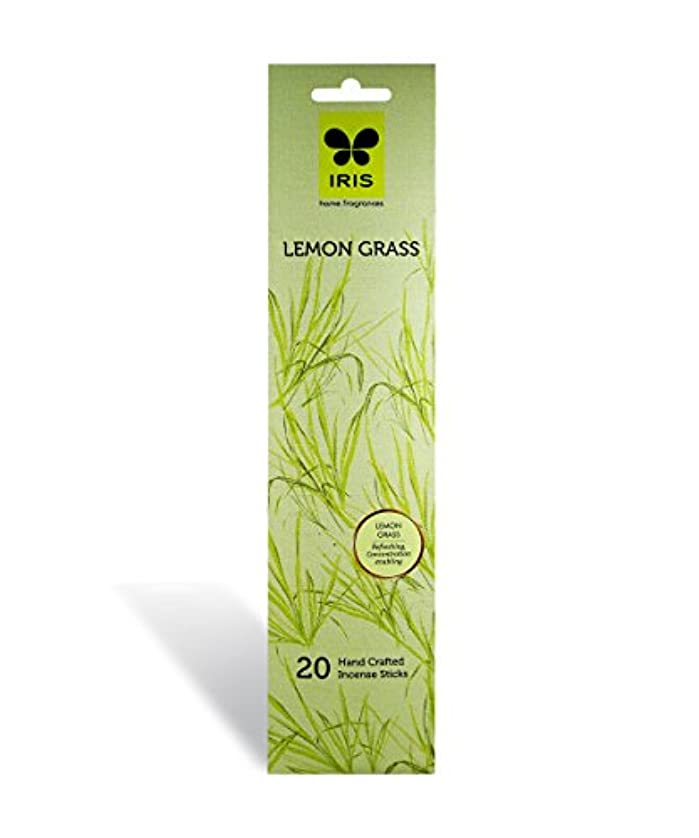 ロビー背が高い台無しにIRIS Signature Lemon Grass Fragrance Incense Sticks