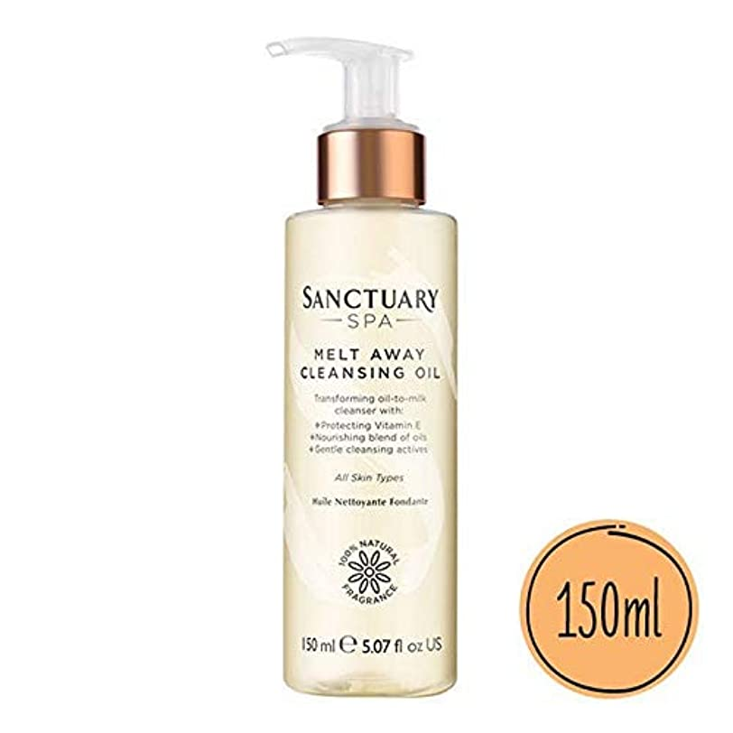 [Sanctuary Spa ] 聖域のスパクレンジングオイル150ミリリットルを溶け - Sanctuary Spa Melt Away Cleansing Oil 150ml [並行輸入品]