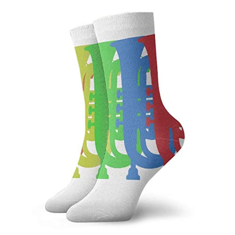 現代同化バンドルスカイラインクリスマス休暇靴下靴紐靴下靴下冬背景靴下