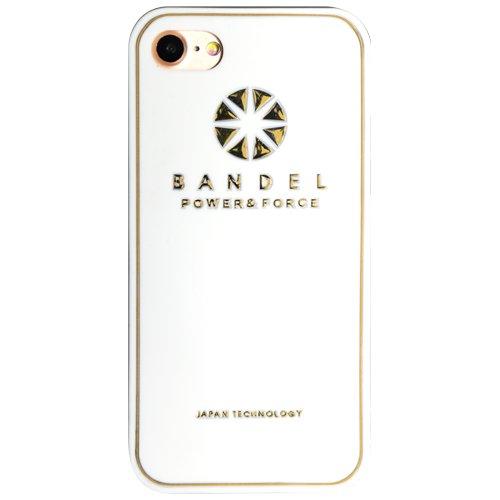バンデル(BANDEL)iPhone7 ケース ロゴ[ホワイ...