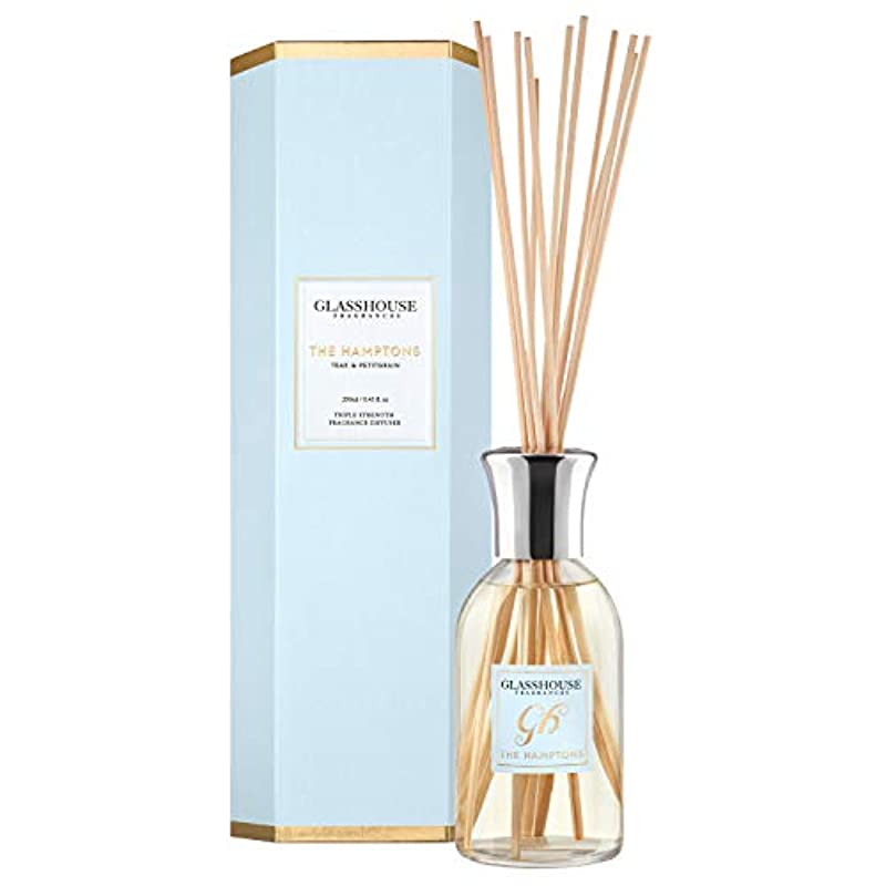 ファシズムすでにエスカレートグラスハウス Triple Strength Fragrance Diffuser - The Hamptons 250ml/8.45oz並行輸入品