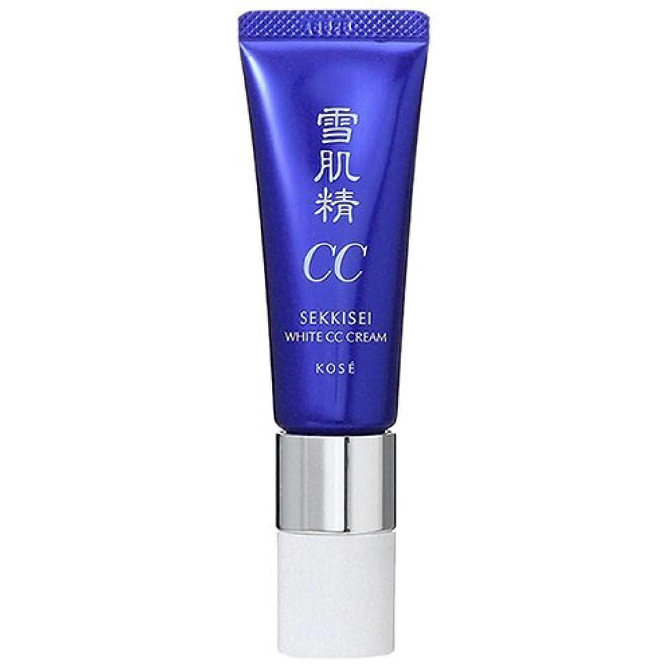 きらめく寝室赤道コーセー 雪肌精 ホワイトCCクリーム SPF50+ PA++++ 30g 01 (在庫)
