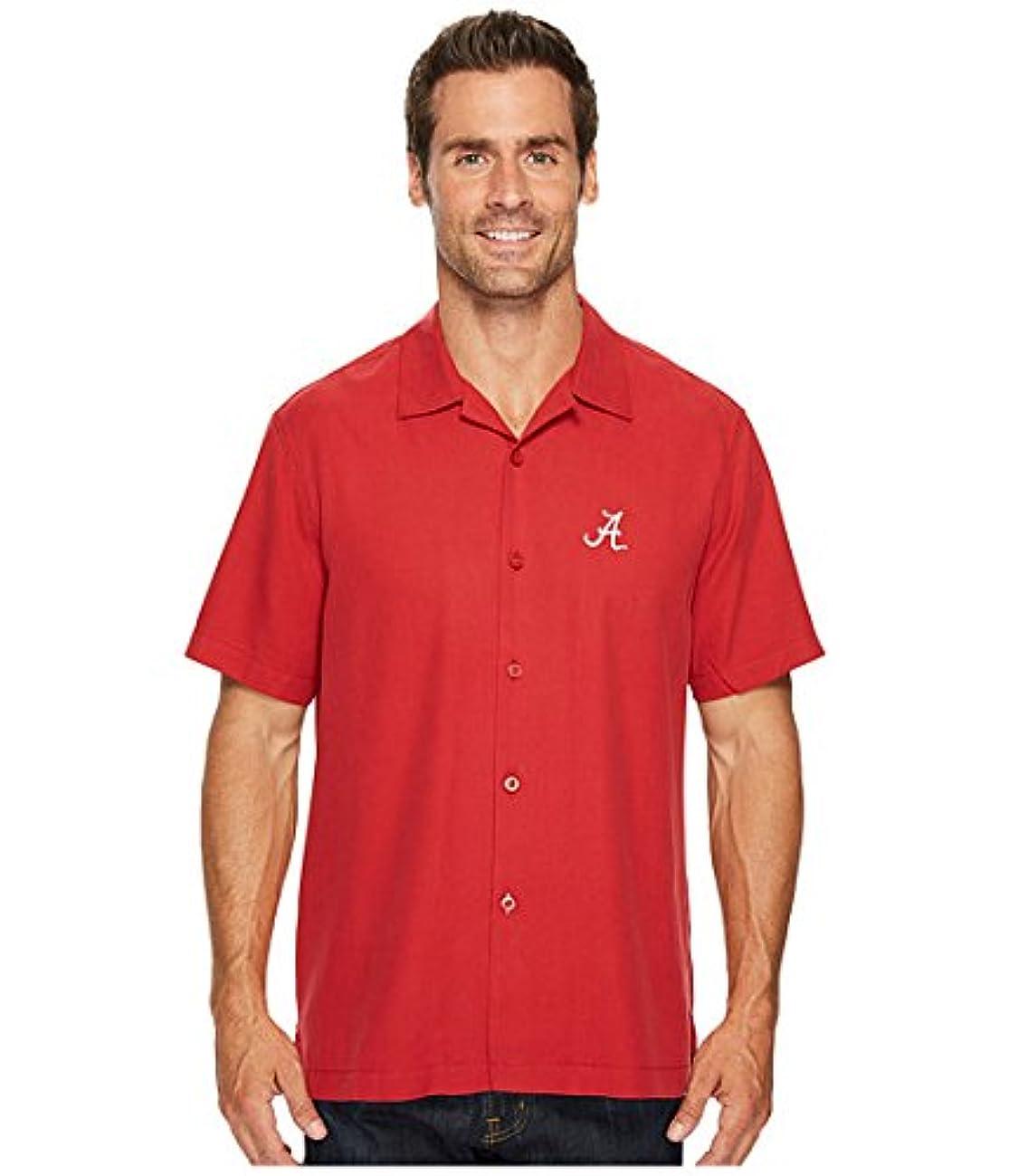 軍マウス職業(トミーバハマ)Tommy Bahama メンズシャツ?ワイシャツ Collegiate Series Catalina Twill University Of Alabama SM S [並行輸入品]