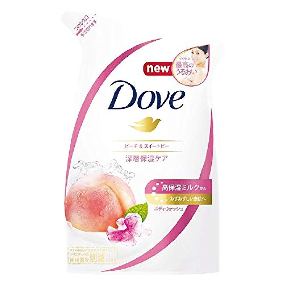誰か東少数Dove ダヴ ボディウォッシュ ピーチ & スイートピー つめかえ用 360g × 12点