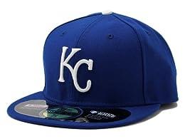 NEW ERA (ニューエラ) KANSAS CITY ROYALS カンザスシティ ロイヤルズ (ON FIELD PERFORMANCE GAME) 帽子 キャップ ヘッドギア ベースボールキャップ 大きいサイズ メンズ レディース NEKCR008-7_1/4 [並行輸入品]