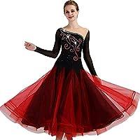 garudaレディース社交ダンスドレス パーティーダンス発表会ワンピースドレス イベント 発表会ドレス ステージ衣装