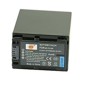 DSTE® アクセサリ NP-FV100 互換 カメラ バッテリー 対応機種 DCR-SR15 DCR-SR21 DCR-SR68 DCR-CX300 DCR-CX305 DCR-CX350V DCR-CX360V