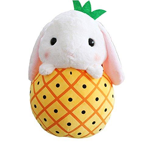 フルーツ ぬいぐるみ ウサギ 果物 パイナップル 40cm
