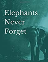 Elephants Never Forget: Discreet Elephant Password Journal to Protect and Keep Track of your Website Usernames and Passwords in Large Format