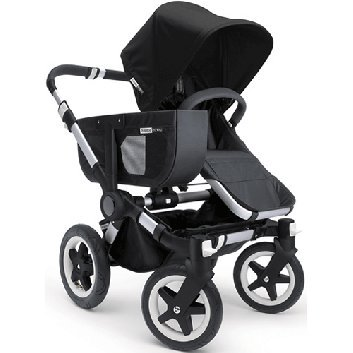 Bugaboo Donkey バガブー ドンキー Mono Stroller モノ ベビーカー in Black/Black ブラック/ブラック [並行輸入品]