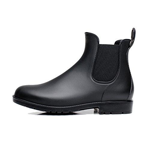 レディース&メンズ レインブーツ オシャレ 雨靴 シンプル 無地 サイドゴア レインブーツ 快適 防水 耐滑 ショートブーツ レインシューズ