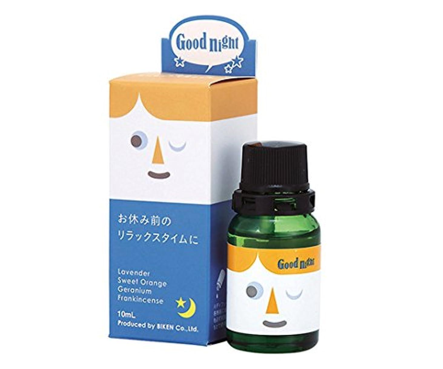 気晴らし国安全な美健8-3405-20水溶性エッセンシャルオイル(グッドナイト)