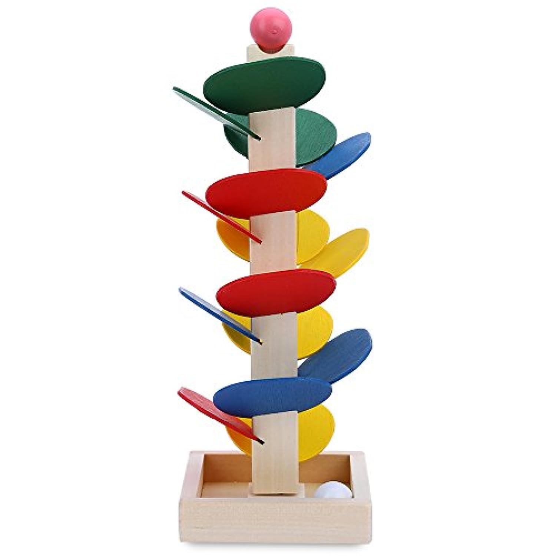 Debonクリエイティブツリーのボールゲーム子供のおもちゃ赤ちゃんパズルおもちゃレンガ