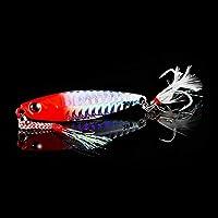 釣りルアージグライトシリコンベイトワブラースピナースプーンベイト冬の海アイスミノータックルイカ桃タコ (Color : A, サイズ : 7cm 30g)