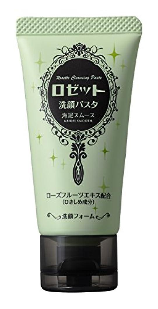 配管グリーンバックひばりロゼット 洗顔パスタ海泥スムースミニ 30g