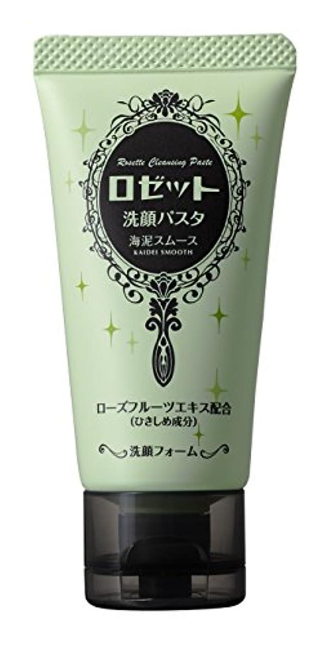 なす冷笑する変動するロゼット 洗顔パスタ海泥スムースミニ 30g