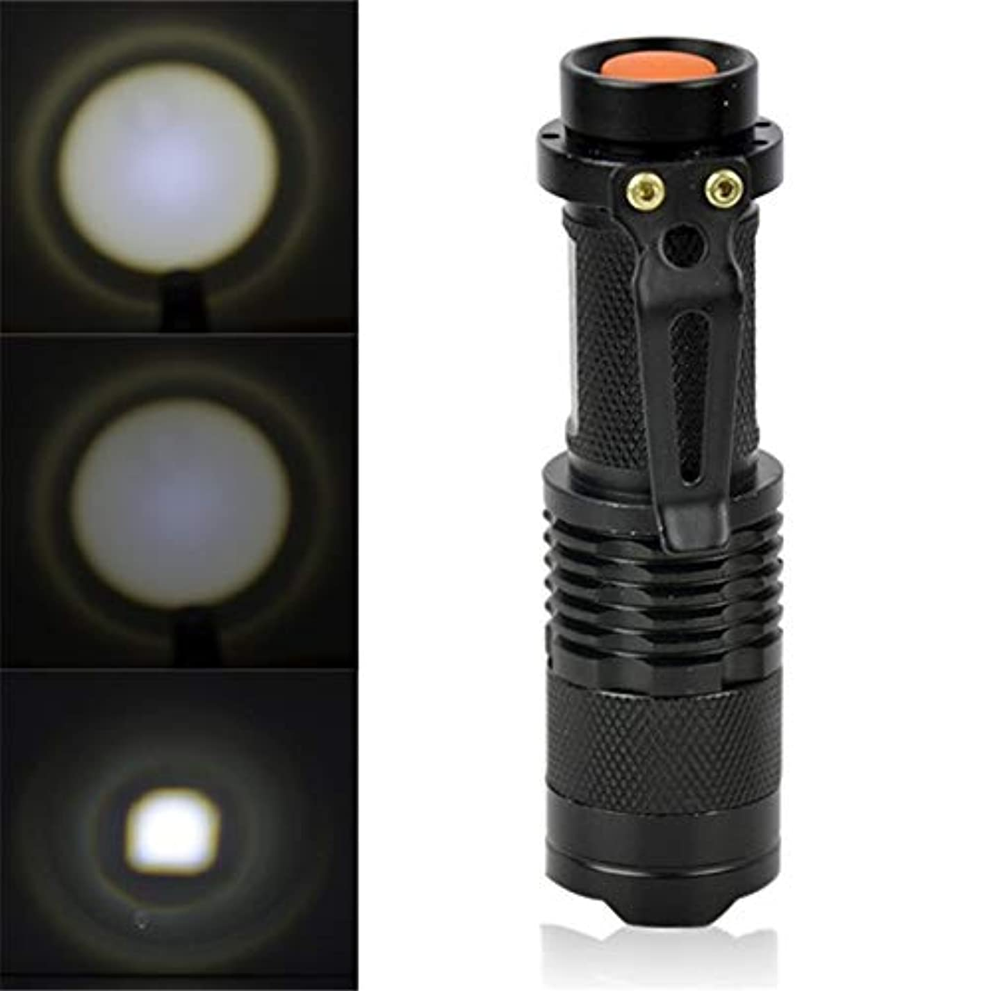 それに応じて尊敬ブランド名1200ルーメンのアウトドアキャンプの強力な防水明るいLED懐中電灯バッテリートーチ - Semperole