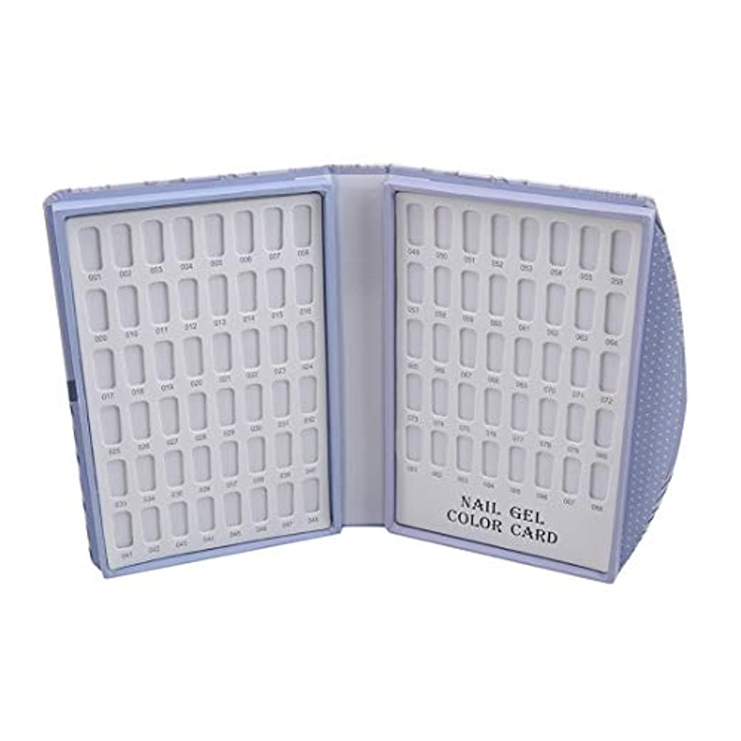 シーズン次へひねりKLUMA カラーチャートブック ネイルマニキュアカラー色見本 120色 88色 サンプル帳 色見本帳 折り畳み式 見本ボード 展示板 6# 長さ*幅*厚さ21.5*16*3cm