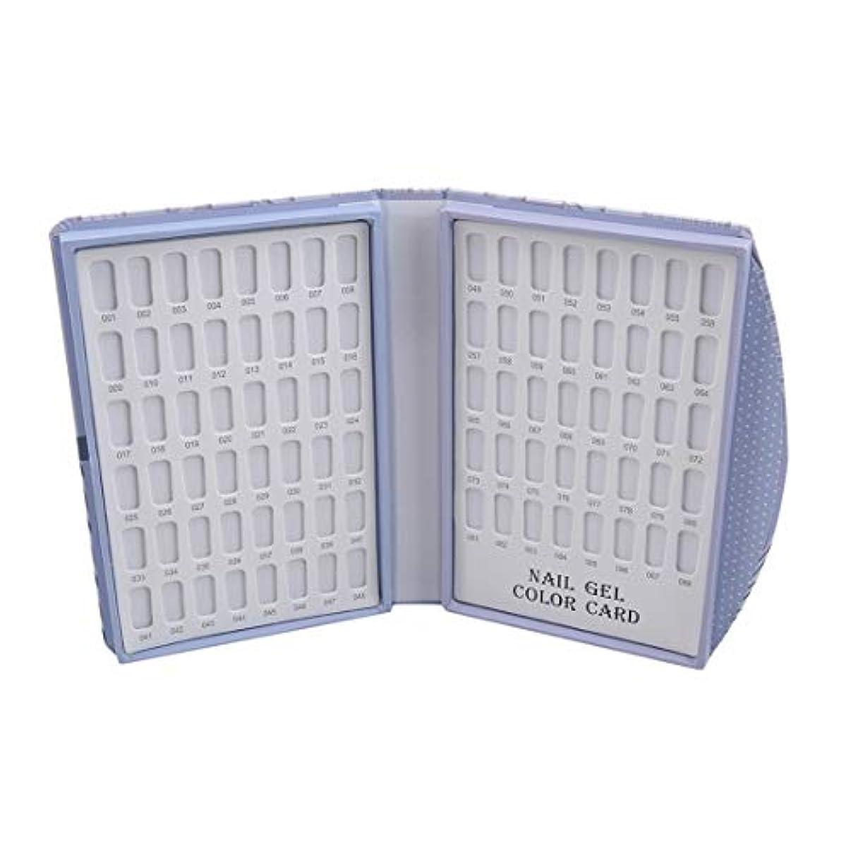 強要引くバージンKLUMA カラーチャートブック ネイルマニキュアカラー色見本 120色 88色 サンプル帳 色見本帳 折り畳み式 見本ボード 展示板 6# 長さ*幅*厚さ21.5*16*3cm