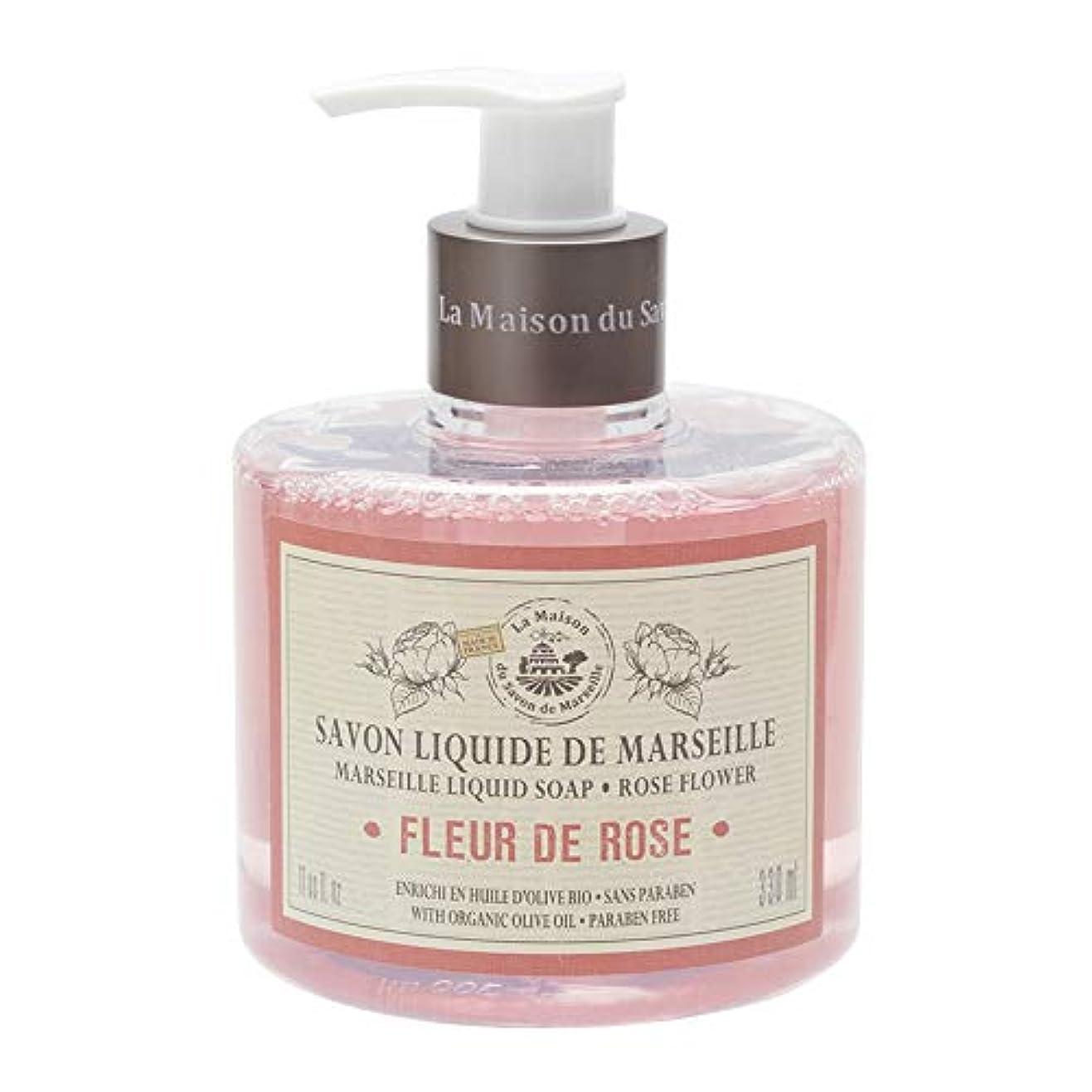動物れる翻訳ノルコーポレーション マルセイユ石鹸 リキッドソープ 330ml ローズの香り MLL-1-1
