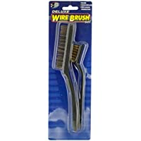 Bulk Buys MR026-24 10 x 10 x 10 Deluxe Wire Brush Set - Case of 24