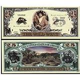 Set of 10 Bills-25 Dollar Wild West Bill [並行輸入品]