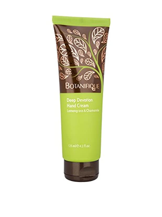 バレエ規制するアドバイスBotanifique Deep Devotion Hand Cream - Lemongrass & Chamomile 125ml/4.2oz並行輸入品