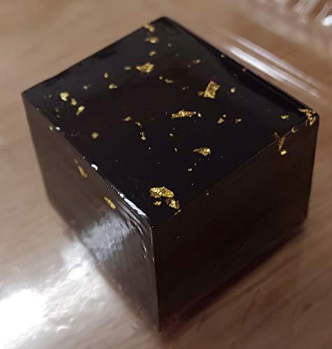 金箔黒糖寄せ (寒天)24個(個約16g)業務用 冷凍