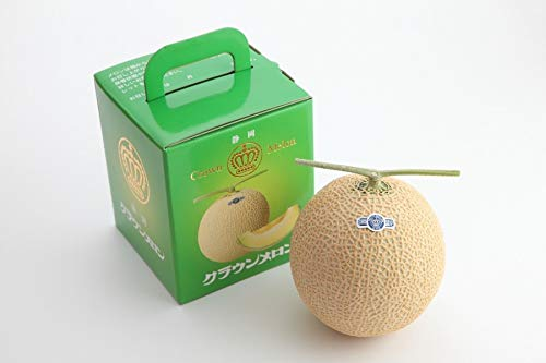 JA静岡経済連 静岡県産マスクメロン「クラウンメロン」1玉化粧箱入
