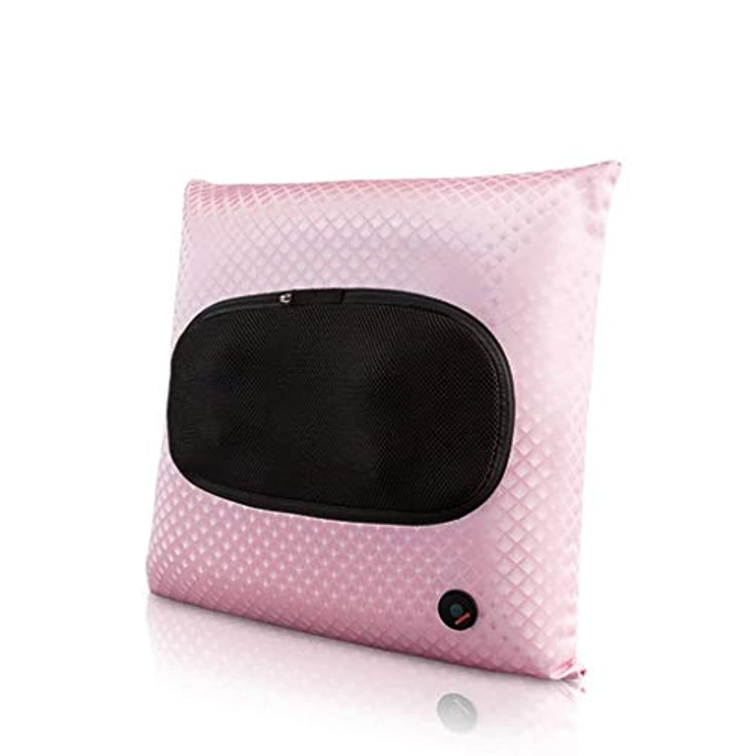 霜分解するピケ電動マッサージ器、指圧首マッサージ枕、ポータブル3Dディープニーディングマッサージ、筋肉リラクゼーション、ホットコンプレス、血液循環/睡眠の促進、バックボディカーオフィスでの使用に適しています