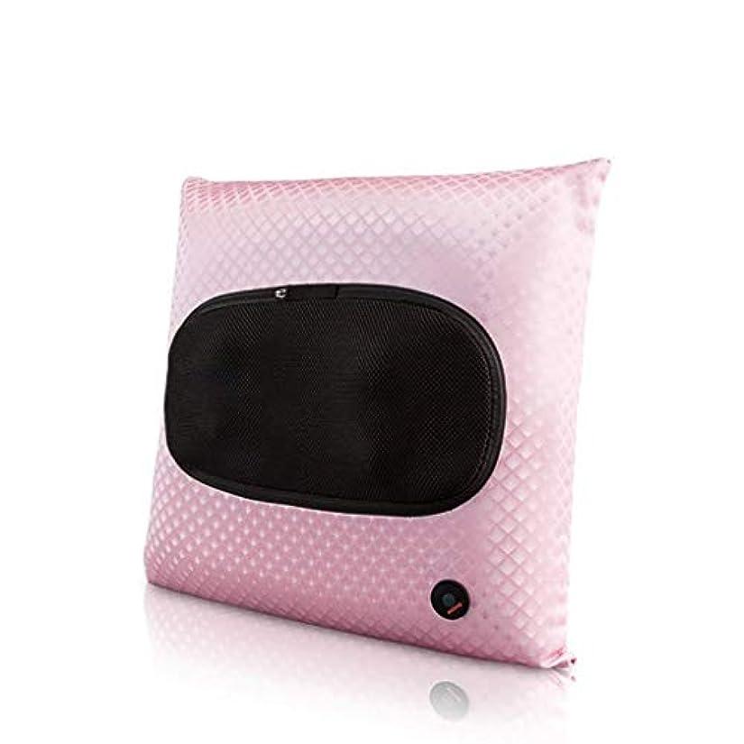 ペットロール補正電動マッサージ器、指圧首マッサージ枕、ポータブル3Dディープニーディングマッサージ、筋肉リラクゼーション、ホットコンプレス、血液循環/睡眠の促進、バックボディカーオフィスでの使用に適しています